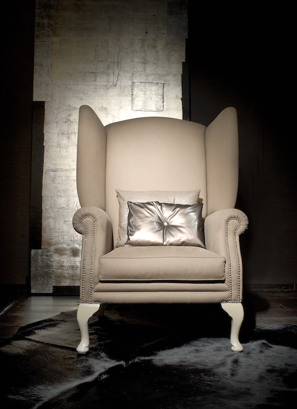 Viceroy wingchair white
